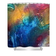 Rainbow Dreams II By Madart Shower Curtain