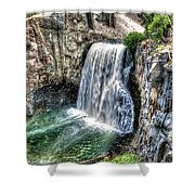 Rainbow Falls 5 Shower Curtain