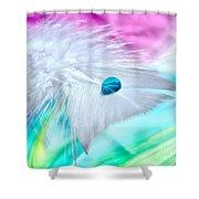 Rainbow Flight Shower Curtain