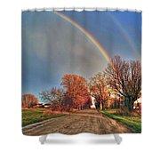 Rainbow Hdr Shower Curtain