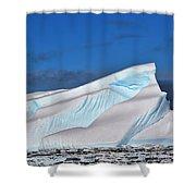Rainbow Ice Shower Curtain