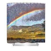 Rainbow - Id 16217-152046-6654 Shower Curtain