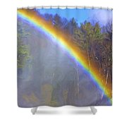 Rainbow In The Mist Shower Curtain
