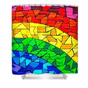 Rainbow ... Shower Curtain