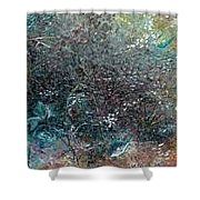 Rainbow Reef Shower Curtain by Karin  Dawn Kelshall- Best