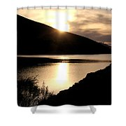 Rainbow Reservoir Shower Curtain