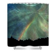 Rainbow Showers Shower Curtain