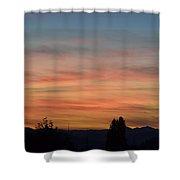 Rainbow Sky Shower Curtain