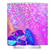 Rainbow Spell Shower Curtain