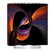 Rainbow Tango Shower Curtain