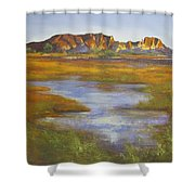 Rainbow Valley Northern Territory Australia Shower Curtain