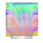Rainbow Waterfall Shower Curtain
