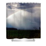Ranchette Rainbow Shower Curtain