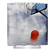 Rained Out Game Shower Curtain