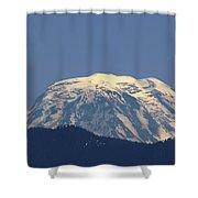 Rainer Peeking Over The Hills   Shower Curtain