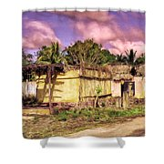 Rainforest Morning Shower Curtain