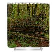 Rainforest Nurse Shower Curtain