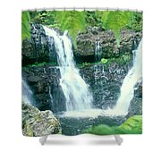 Rainforest Waterfalls Shower Curtain