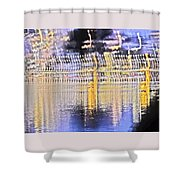 Raining Light Shower Curtain