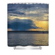 Rainstorm Offshore Shower Curtain