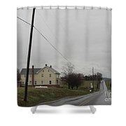Rainy April Days Shower Curtain