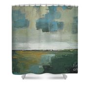 Rainy Clouds Shower Curtain