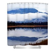 Rainy Day Reflections Shower Curtain