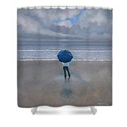 Rainy Days And Mondays Shower Curtain