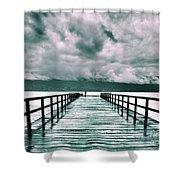 Rainy Days In Summerland 2 Shower Curtain