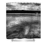 Rainy Days In Summerland Shower Curtain