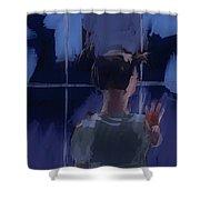 Rainy Days Shower Curtain