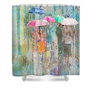 Rainy In Paris 2 Shower Curtain