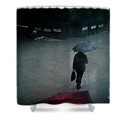 Rainy Whether In London. Shower Curtain