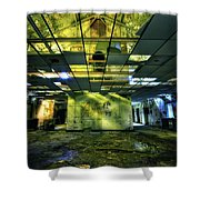Raise The Roof Shower Curtain by Evelina Kremsdorf