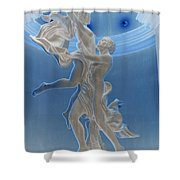 Raised To Behold Shower Curtain