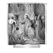 Raising Lazarus Shower Curtain