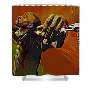 Rakim Shower Curtain