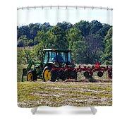 Raking The Hay Shower Curtain