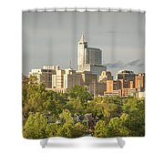 Raleigh Nc Panoramic Shower Curtain