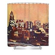 Raleigh Sunrise IIi Shower Curtain