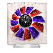 Rally Shower Curtain