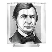 Ralph Waldo Emerson Shower Curtain