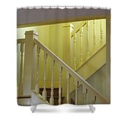 Ralphie's Staircase Shower Curtain