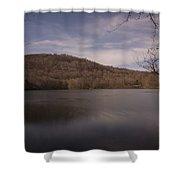 Ramapo Valley Lake Shower Curtain