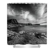 Ramasaig Bay Neist Point Shower Curtain