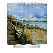 Rambling Walk Shower Curtain