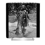 Ramona Puddle Stomping, Shower Curtain