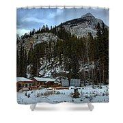 Rampart Creek Hostel Shower Curtain