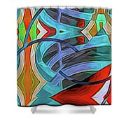 Ramped Up Shower Curtain