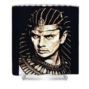 Ramses II Shower Curtain